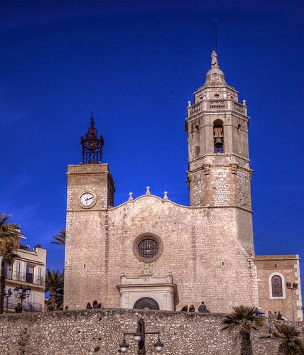 Iglesia de Sant Bartomeu en Sitges