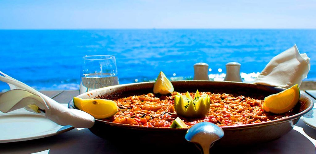 Paella en Sitges