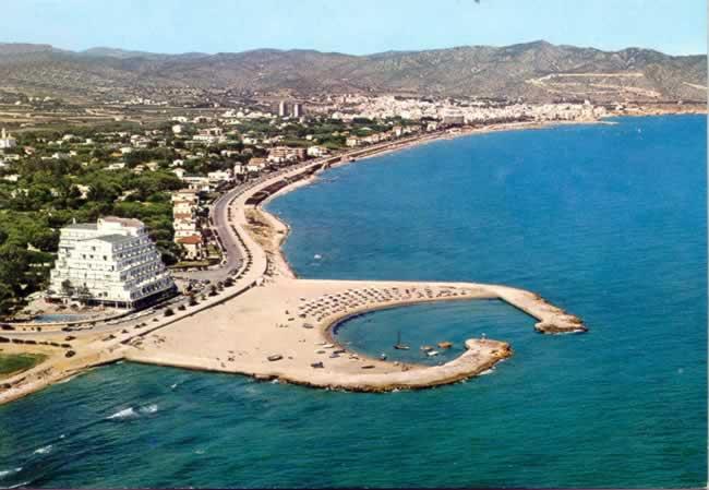 Playa de Terramar de Sitges