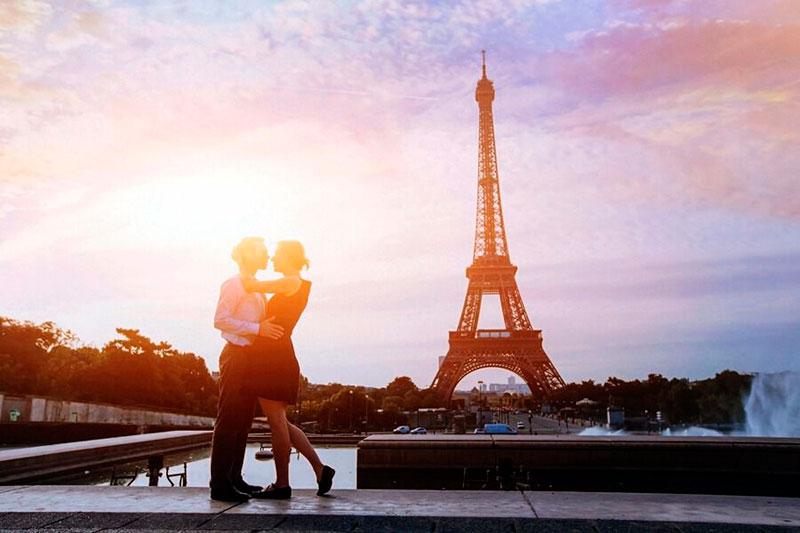 Vacaciones en pareja: París